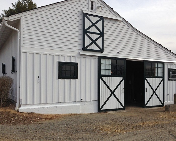 Lower barn at Centennial Farms in Middleburg